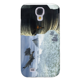 Drache-Turm Galaxy S4 Hülle