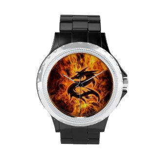 Drache-Uhr