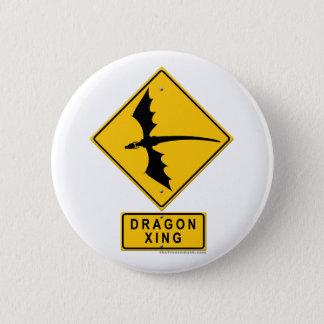 Drache XING Runder Button 5,1 Cm