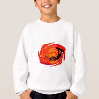 Drachen an der Dämmerung Sweatshirt