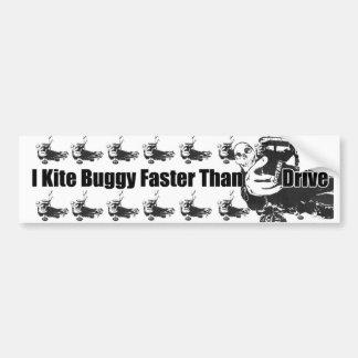 Drachen-Buggy-Autoaufkleber