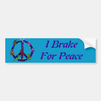 Drachen des Friedens Autoaufkleber