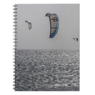 Drachen-Surfer Notizbuch Notizblock