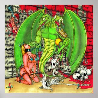 Drachen und Kerker Poster