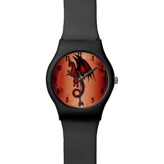 Dracherot Uhr