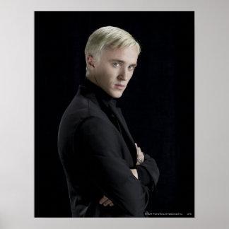 Draco Malfoy Arme gekreuzt Plakate