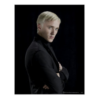 Draco Malfoy Arme gekreuzt Poster