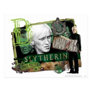 Draco Malfoy Collage 1 Postkarte