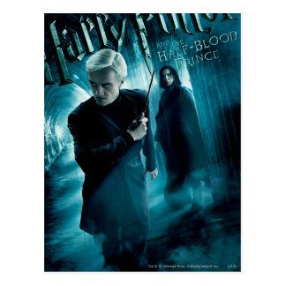 Draco Malfoy und Snape 1 Postkarte