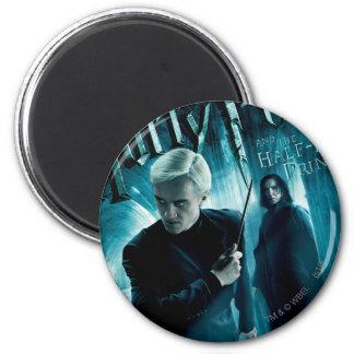 Draco Malfoy und Snape 1 Runder Magnet 5,1 Cm