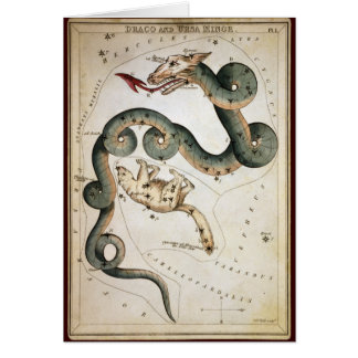 Draco und Ursa Minderjähriger Karte