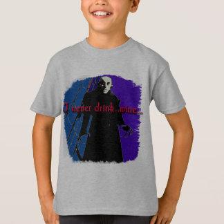 Dracula I trinken nie… Wein T-Shirt