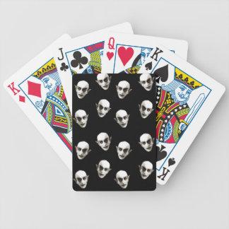 Dracula-Muster Bicycle Spielkarten