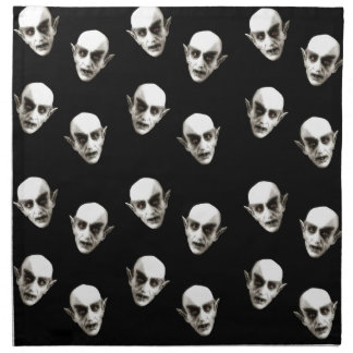 Dracula-Muster Stoffserviette