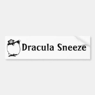 Dracula-Niesen Autoaufkleber