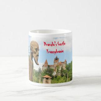 Dracula-Schloss in der Kleie, Brasov, Siebenbürgen Tasse