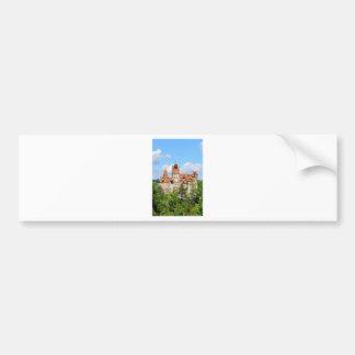 Dracula-Schloss in Siebenbürgen, Rumänien Autoaufkleber