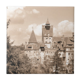 Dracula-Schloss in Siebenbürgen, Rumänien Fliese