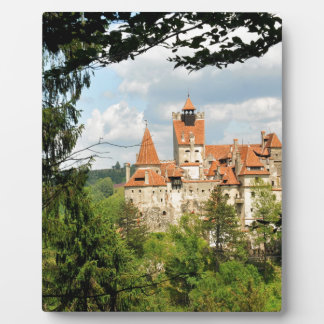 Dracula-Schloss in Siebenbürgen, Rumänien Fotoplatte