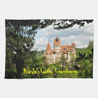 Dracula-Schloss in Siebenbürgen, Rumänien Handtuch