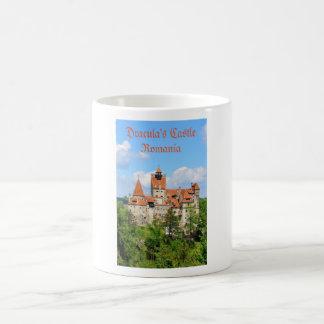 Dracula-Schloss in Siebenbürgen, Rumänien Kaffeetasse