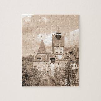 Dracula-Schloss in Siebenbürgen, Rumänien Puzzle