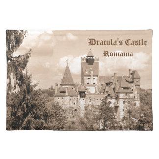 Dracula-Schloss in Siebenbürgen, Rumänien Stofftischset