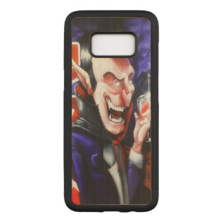 Dracula trinkt Blut Carved Samsung Galaxy S8 Hülle