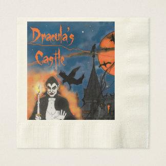 Draculas Schloss-Halloween-Partyservietten Servietten