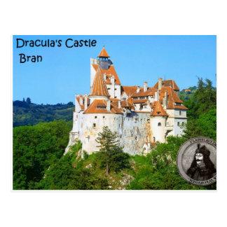 Draculas Schloss, Kleie Postkarte