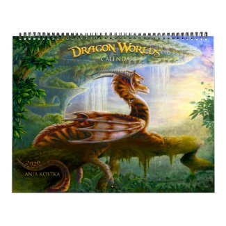 Dragon Worlds Calendar 2020 Kalender
