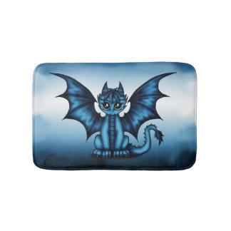 Dragonbaby Blau Badematten