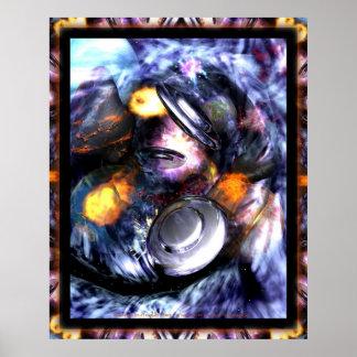 Dragoncat Sciencefiction-Fantasie-Reihe 3 Poster