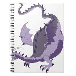 dragoncolour spiral notizblock