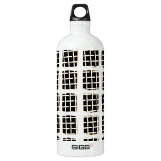 Draht-Kreis-abstrakter Kunst-Effekt-glatte Wasserflasche