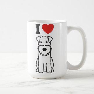 Drahtfox-Terrier-HundeCartoon Kaffeetasse