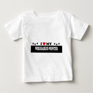 DRAHTHAAR-ZEIGER BABY T-SHIRT