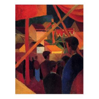 Drahtseil bis August Macke Postkarte