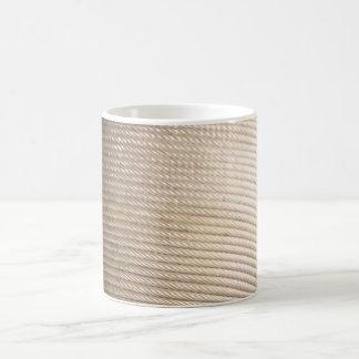 Drahtseil-weißer Kaffee-Tasse Kaffeetasse