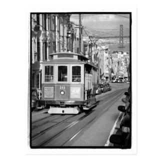 Drahtseilbahn-Postkarte Postkarte