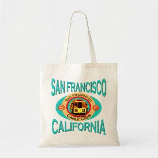 Drahtseilbahn San Francisco Budget Stoffbeutel