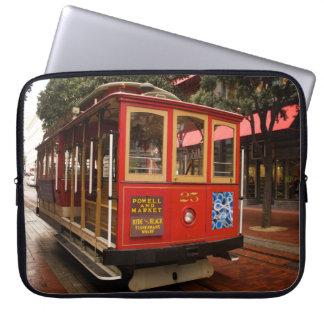 Drahtseilbahn-San Francisco Fall Laptop Computer Schutzhüllen