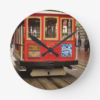 Drahtseilbahn-San Francisco Wanduhr