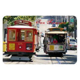 Drahtseilbahn von San Francisco Magneten Vinyl Magnet