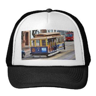 Drahtseilbahnen in San Francisco Netzkappen