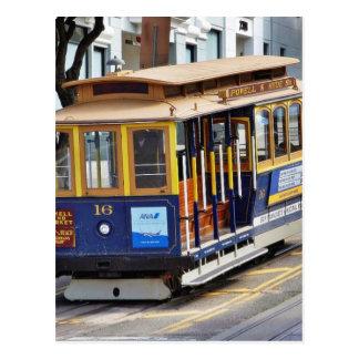 Drahtseilbahnen in San Francisco Postkarten