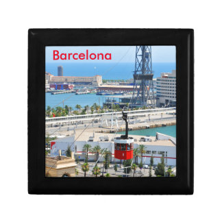 Drahtseilbahnen (Seilbahnen) in Barcelona Erinnerungskiste