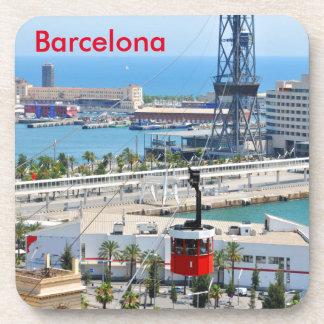 Drahtseilbahnen (Seilbahnen) in Barcelona Untersetzer