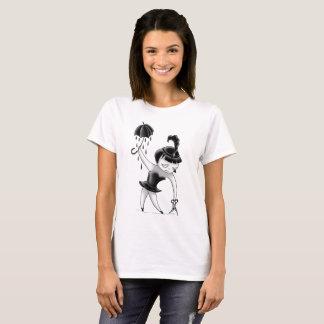 Drahtseilmädchen T-Shirt