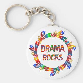 Drama-Felsen Schlüsselanhänger